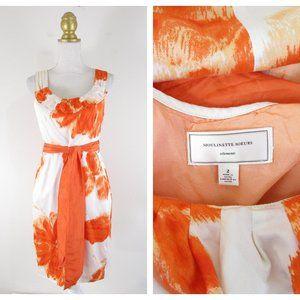 Moulinette Soeurs Orange Blossom Floral Dress 2